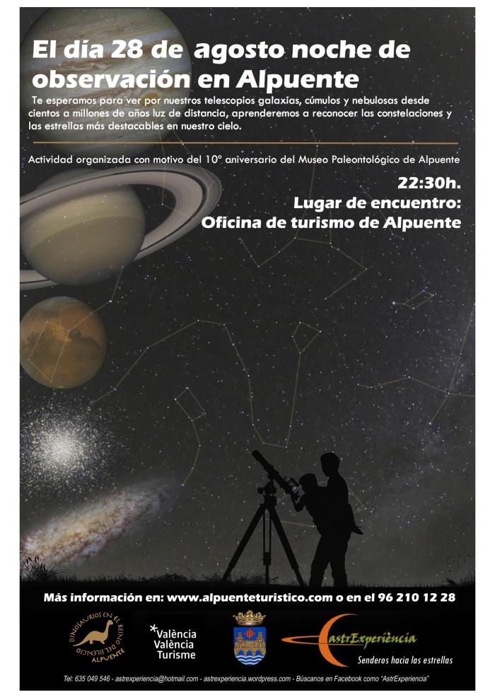 Observación astronómica 28-08-16