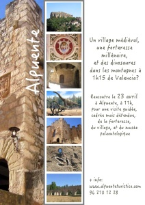 Cartel visitas en francés 23 abril