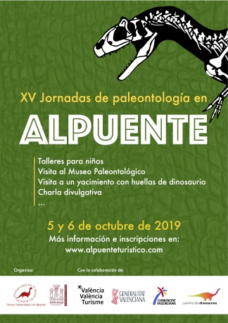 Cartel jornadas paleo 2019 red