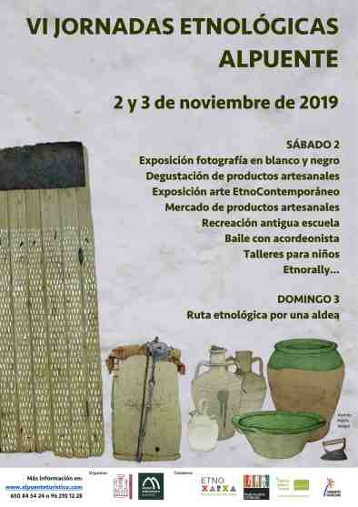 CARTEL JORNADAS ETNOLÓGICAS 2019 red