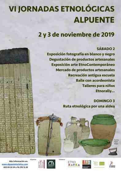 CARTEL JORNADAS ETNOLÓGICAS 2019 red
